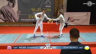 Novi Sad European Championships 2018 Day06 T16 MS UKR vs GBR