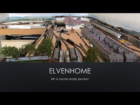 Elvenhome Model Railway Layout Episode 26: Scratch Building The Vicarage Part 2