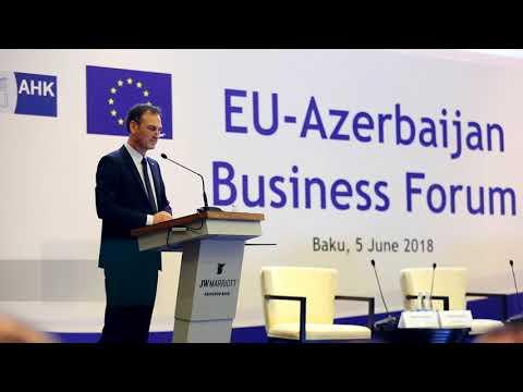 EU-Azerbaijan Business Forum 2018_Official Opening