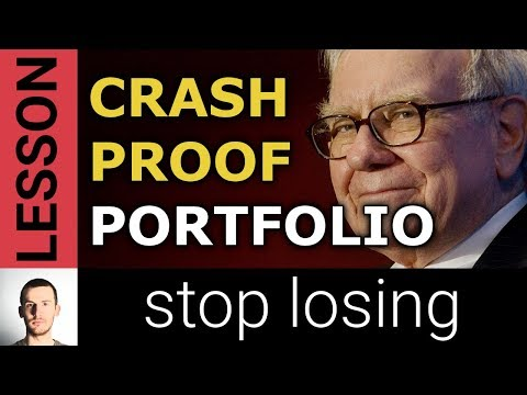 Crash Proof Portfolio: 3 Portfolios to Protect Against a Stock Market Crash