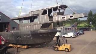Privateer Trawler 54 - Construction