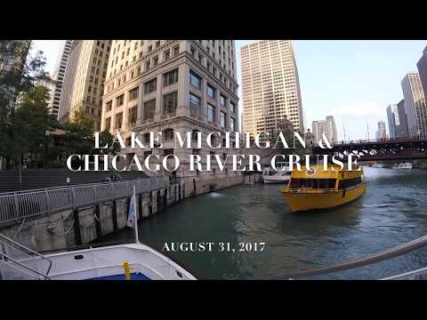 CHICAGO RIVER BOAT CRUISE  (Time Lapse)