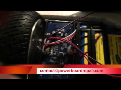 Powerboard:Hoverboard Repair Gyroscope Replacement (One Side Not Working)
