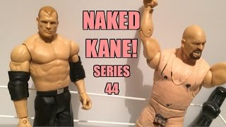 WWE ACTION INSIDER: Co-KANE Mattel Superstars Basic Series 44 Wrestling Figure Toy