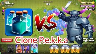100 Clone P.a.k.k.e Attack | COC Private Server | Clash Of Clans