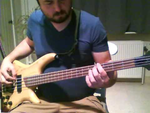 Bruce Springsteen - I'm On Fire bass cover