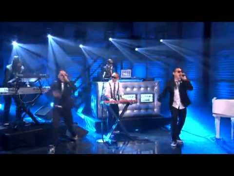 Far East Movement feat. FrankMusik - Rocketeer (Live at Conon O'Brien)