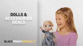 Top Black Friday Dolls & Accessories Deals: Frozen Elsa Deluxe Toddler Doll