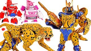 Transformers Beast Wars Cheetor! Transformed into cheetah! #DuDuPopTOY