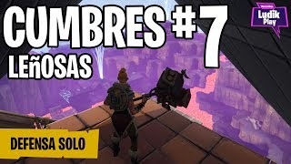 DEFENSE SCHOOL FULLERS #7 IN SOLITARY FORTNITE SAVE THE WORLD Spanish Gameplay