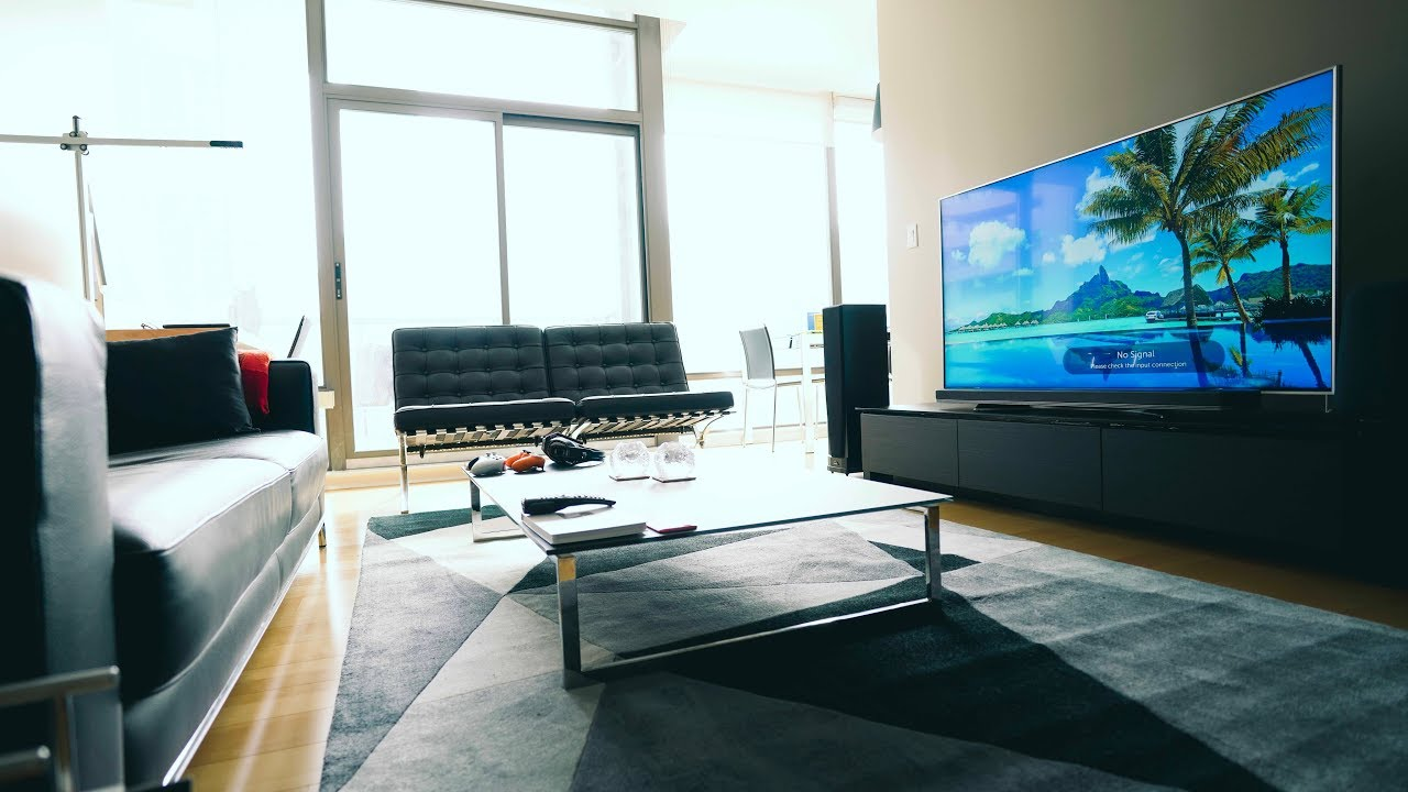 living room tv setup furniture mn creating the perfect 4k youtube