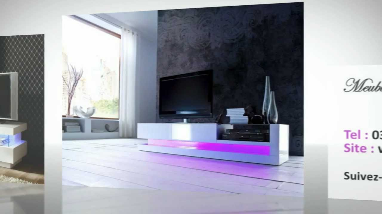 collection hollywood meuble design meuble blanc laqu youtube. Black Bedroom Furniture Sets. Home Design Ideas
