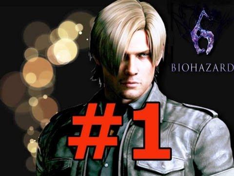 Resident Evil 6 Campaña Leon en español Parte 1