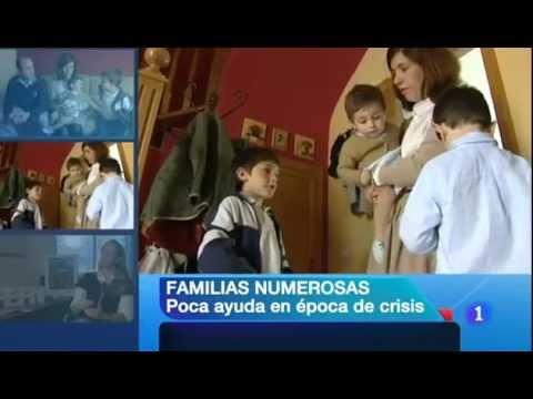 Radiografía de las familias numerosas en TVE