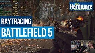 Battlefield 5 Raytracing-Performance @ RTX 2080 Ti & RTX 2070 | 1080p/60?