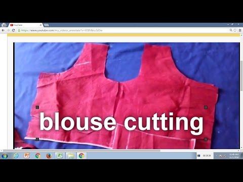blouse cutting