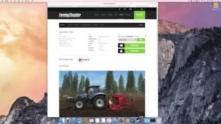 FS17-Adding Mods manually on a Mac