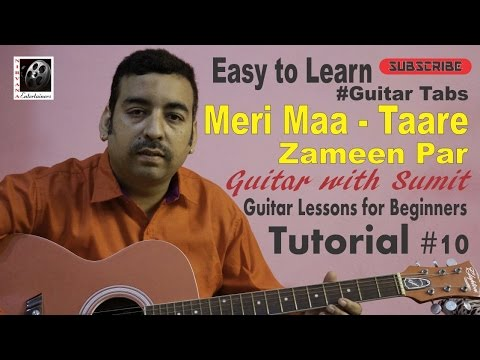 Guitar meri maa guitar tabs : Basic Guitar Lesson II Easy to learn Guitar Tabs II Maa (Taare ...