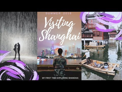 My First Time in Shanghai!