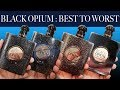 YSL BLACK OPIUM PERFUME COLLECTION OVERVIEW : Best To Worst Ranking