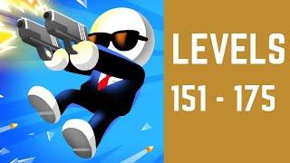 Johnny Trigger Game Walkthrough Level 151-175