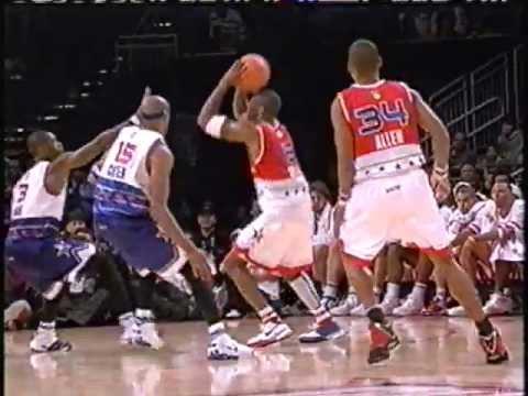 Kobe Bryant Splits Two Defenders, Ties All-Star Game With Clutch Fallaway (2006)