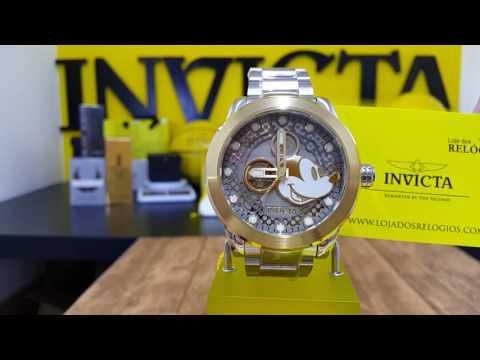 Relógio invicta Disney 22743/ edição limitada/ 100% original é aqui na LOJA DOS RELÓGIOS