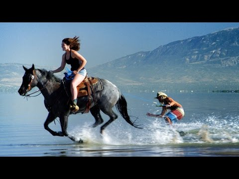 Horse Surfing! Most Epic Skim Tricks! | DEVINSUPERTRAMP