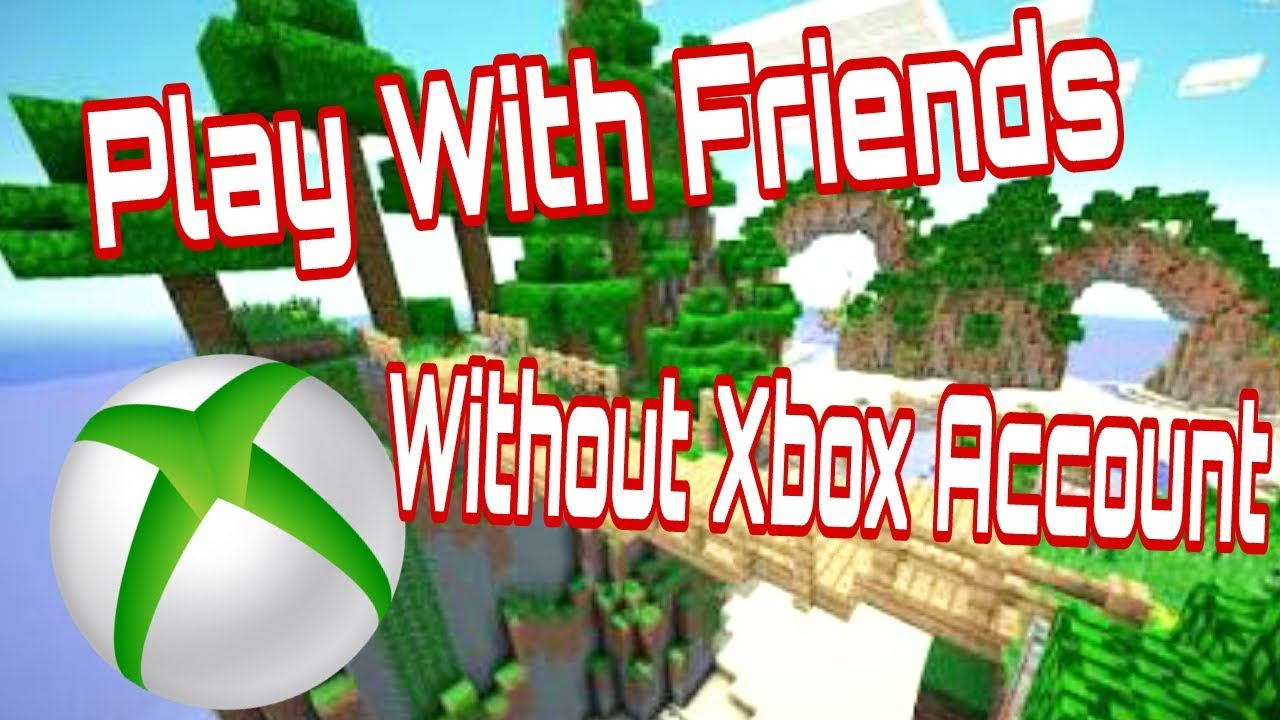 Play MCPE With Friends Without Xbox Live Account Minecraft Pocket - Minecraft offline spielen ohne account download