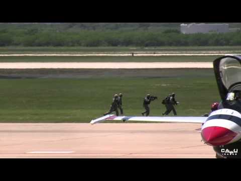 Joint Forces Air Power Demo @ 2015 Dyess Big Country Air Fest (Saturday)