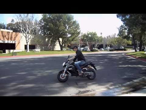 Super Hornet SR1 LKY Scooter Motorcycle - Test Demo Video - CountyImports.com