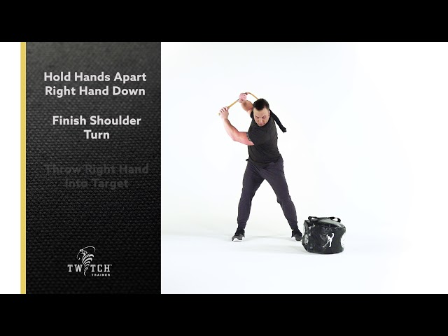 SQUARE STANCE POWER HAND THROW