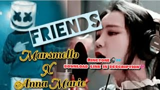 Marshmello and anne marie friends ringtone ( j.fla cover) || download link included
