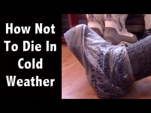 How To Not Die In The Cold - Cold Weather Prepping To Survive A Car Wreck