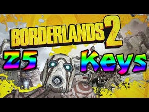 25 Golden Keys! - Borderlands 2 Shiftcodes That Never Expire