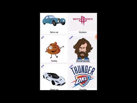 Color by Numbers or Draw Famous Basketball and Football Players