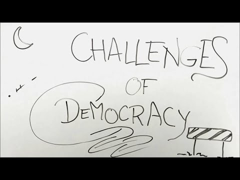 Challenges to Democracy - BKP | class 10 civics chapter 8 explanation in hindi cbse ncert notes