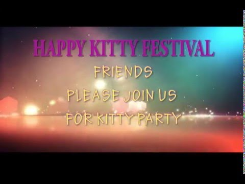 Kitty invitation youtube kitty invitation spiritdancerdesigns Images
