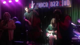 David Michael Wyatt in Malaga, Spain at Clarence Jazz Club