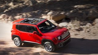 Jeep Renegade обзор 2016.  Тест-драйв.  Test Drive
