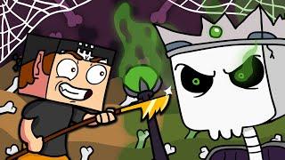 СЕКРЕТНОЕ ОРУЖИЕ ПРОТИВ КОРОЛЯ СКЕЛЕТОВ ► Minecraft Dungeons  4  Прохождение