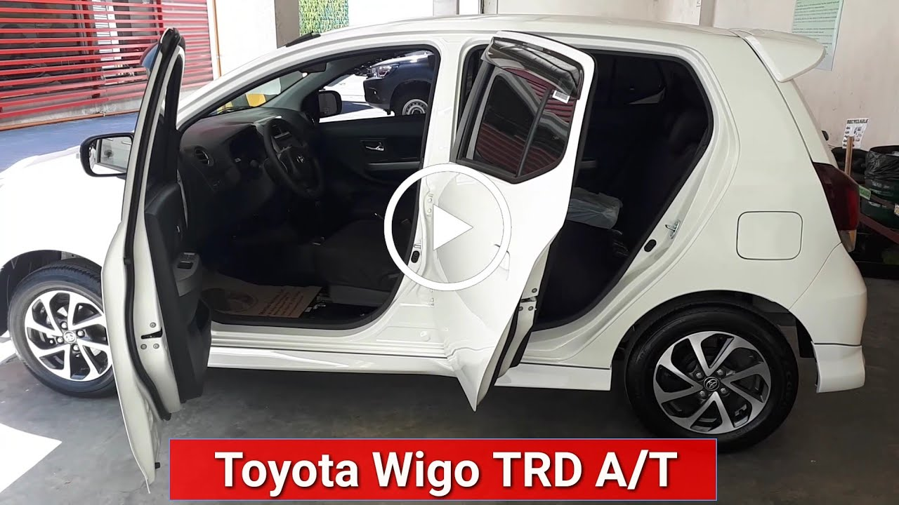 2019 Toyota Wigo Trd Automatic Quick View Color White Youtube