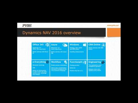 Microsoft Dynamics NAV for GovCon demonstration webinar