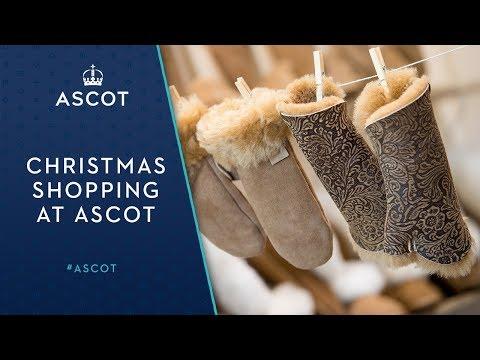 Christmas Shopping at Ascot Racecourse