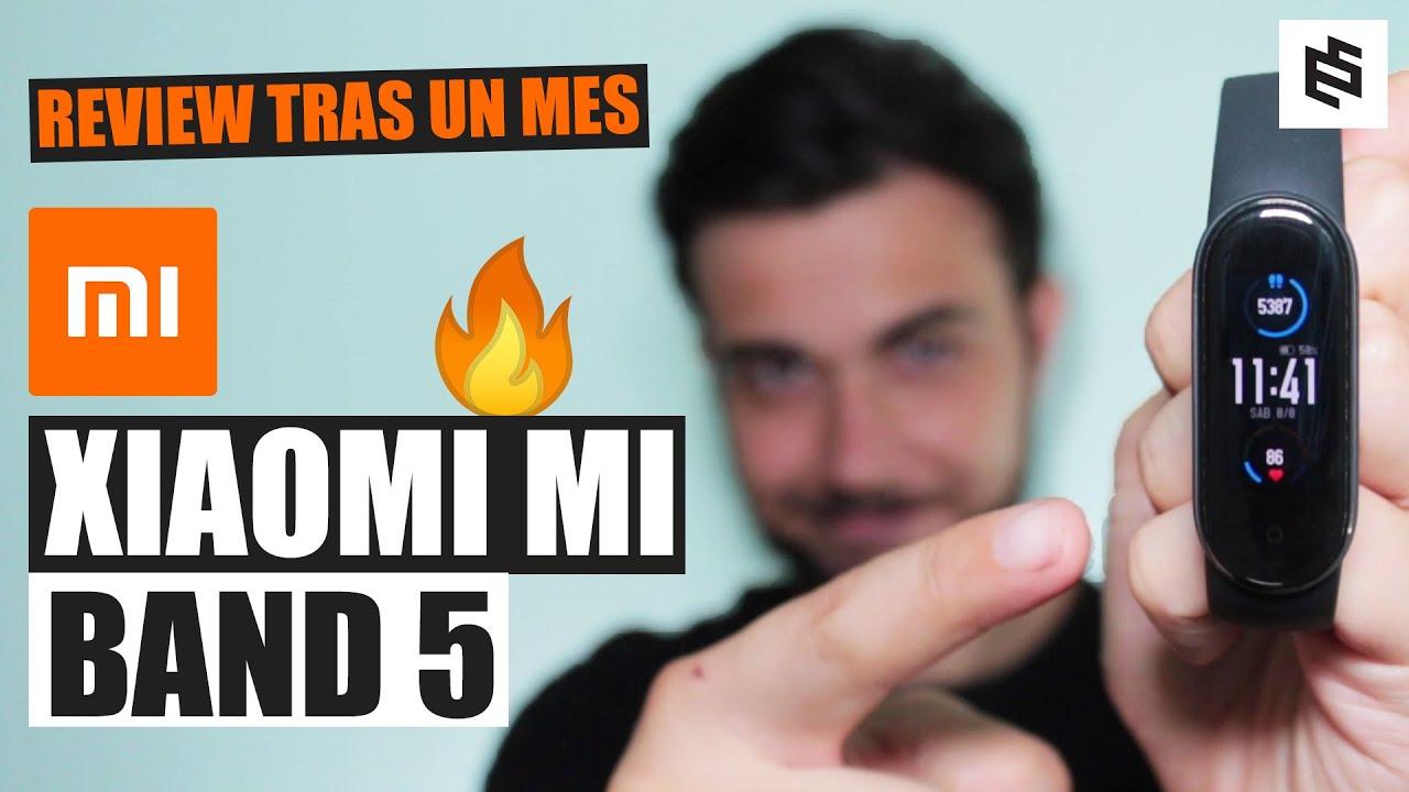 La MeJoR!💥XIAOMI MI BAND 5: Review REAL tras 1 MES de USO en español