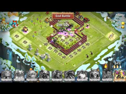Castle Clash - Best Hero Expeditions Strategy