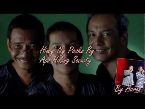 Himig Ng Pasko By Apo Hiking Society With Lyrics