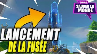 The Rocket Launch! Fortnite Save the World!