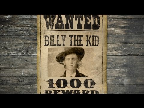 Photoshop Tutorial How to Make a Vintage, Wild West, WANTED Poster - make a missing poster