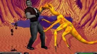Xenophage: Alien BloodSport (PC DOS) longplay